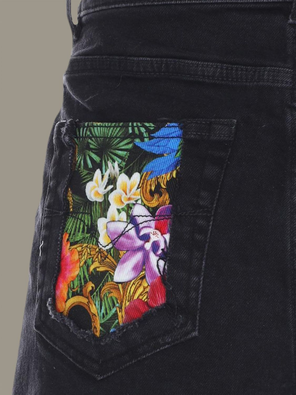 Pantalones Cortos Mujer Versace Jeans Pantalones Cortos Versace Jeans Mujer Negro Pantalones Cortos Versace Jeans A3hva18jall4z Giglio Es