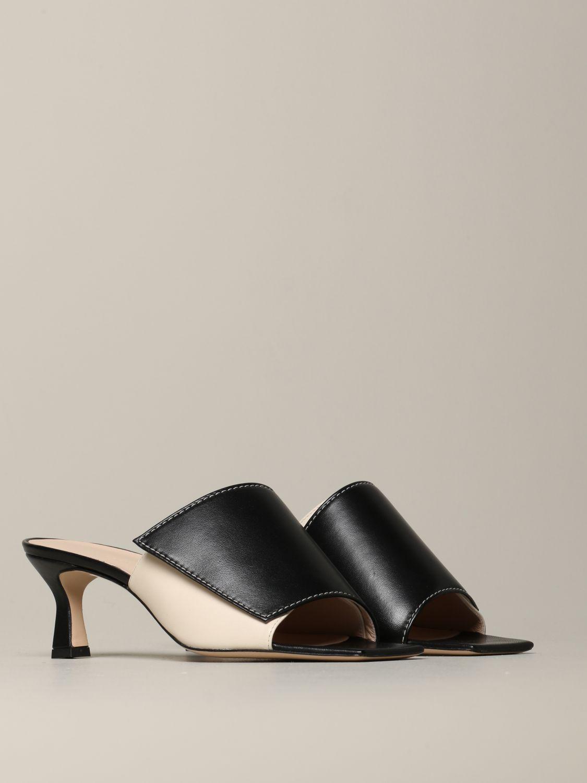 Flat shoes women Wandler black 2