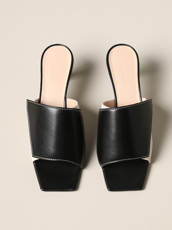 Flat shoes women Wandler black 3