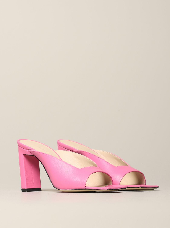 Flat shoes women Wandler pink 2