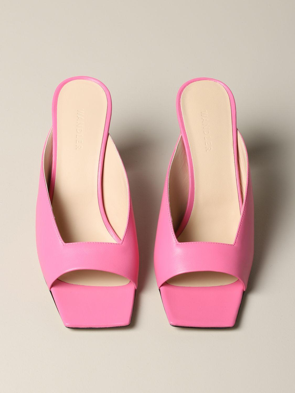 Flat shoes women Wandler pink 3