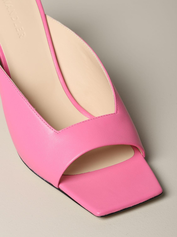 Flat shoes women Wandler pink 4
