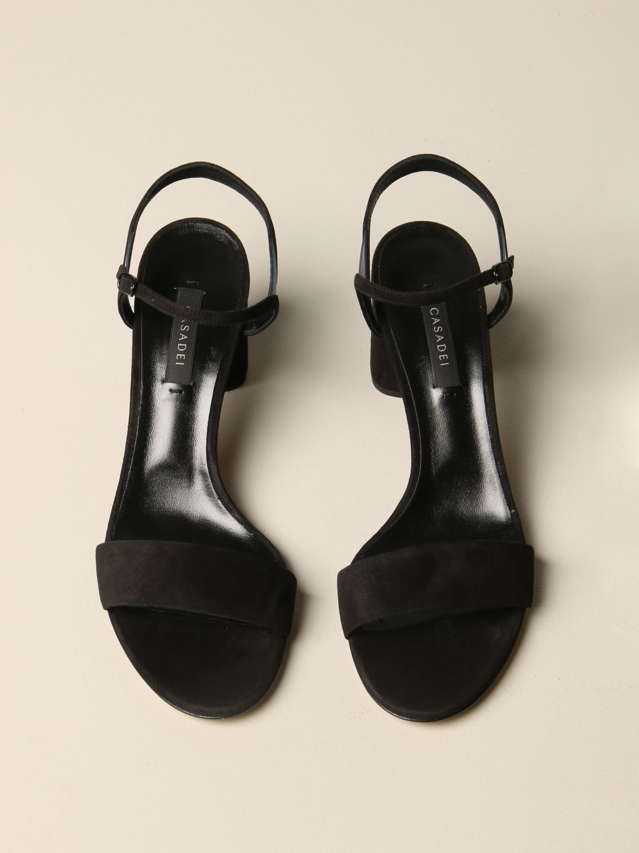 Heeled sandals women Casadei black 3