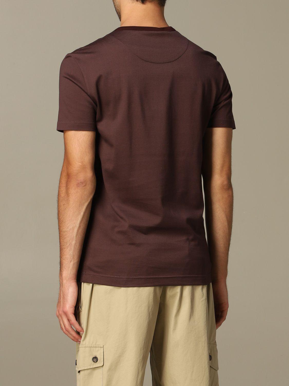 T-Shirt Dolce & Gabbana: T-shirt herren Dolce & Gabbana burgunderrot 2