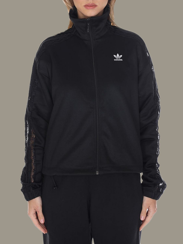 Sweatshirt Adidas Originals: Sweatshirt women Adidas Originals black 1