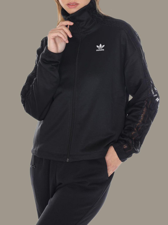 卫衣 Adidas Originals: 卫衣 女士 Adidas Originals 黑色 2