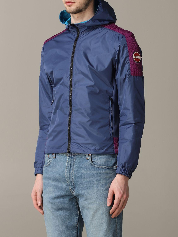 Veste Colmar: Veste en nylon Colmar avec capuche bleu 3