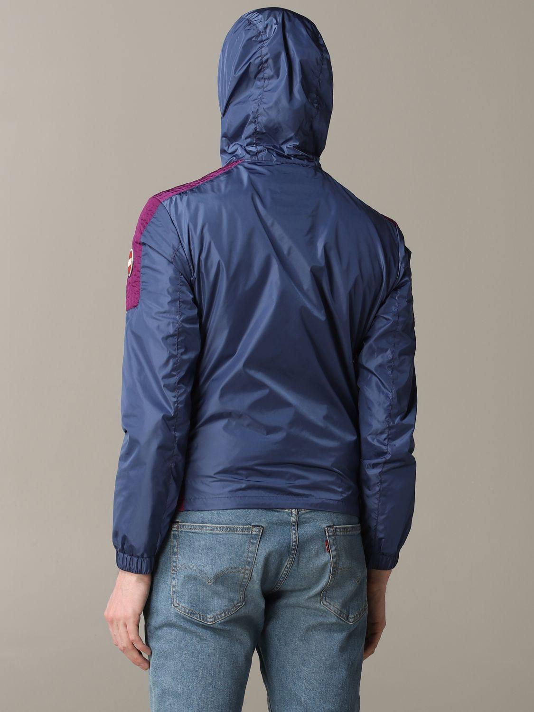 Veste Colmar: Veste en nylon Colmar avec capuche bleu 4