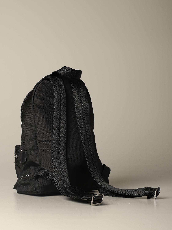 Marc Jacobs medium nylon backpack with logo black 2