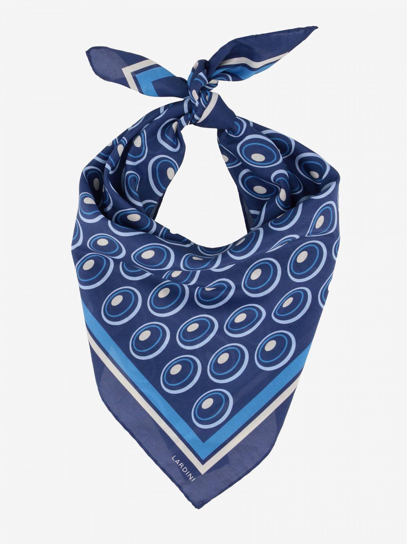 Seidentuch herren Lardini blau 2