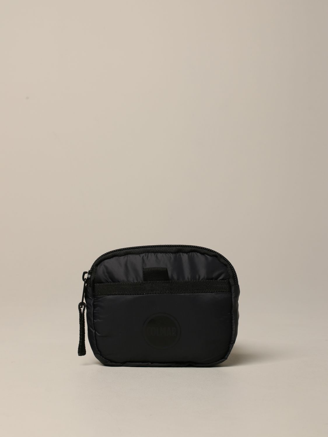 Colmar nylon belt bag with logo black 1