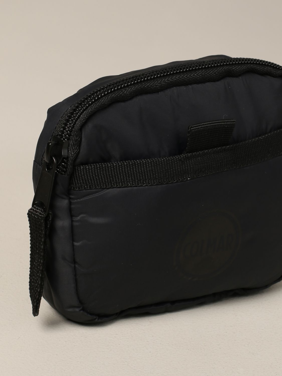 Colmar nylon belt bag with logo black 3