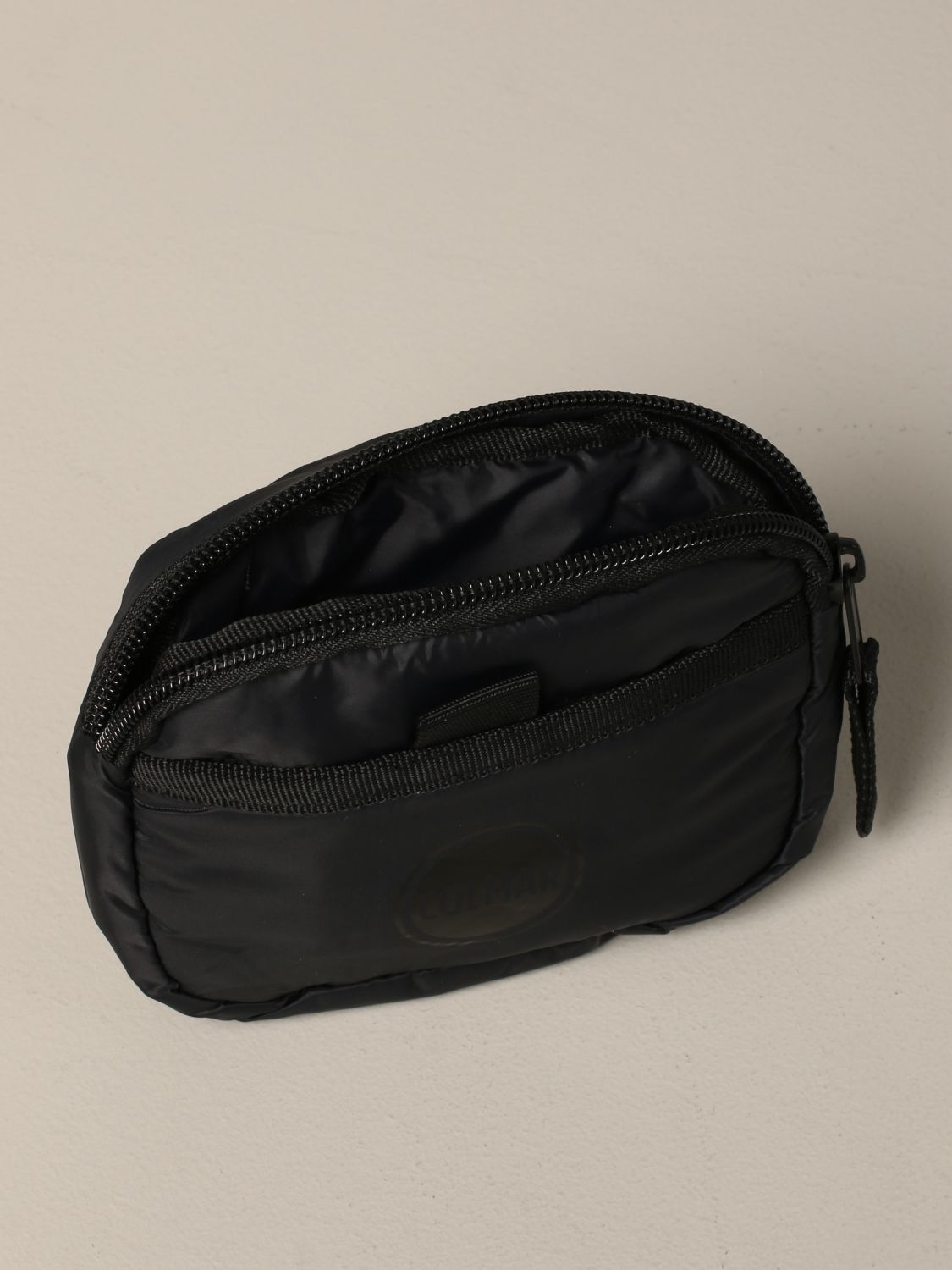 Colmar nylon belt bag with logo black 4