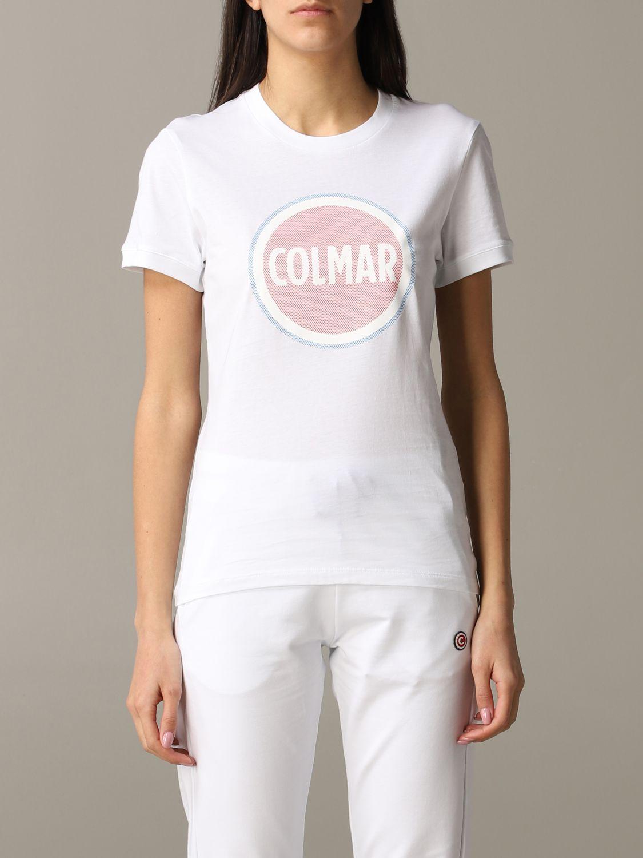 T-Shirt Colmar: T-shirt women Colmar white 1