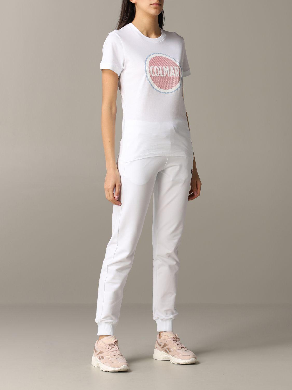 T-Shirt Colmar: T-shirt women Colmar white 2