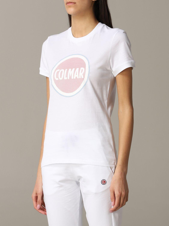 T-Shirt Colmar: T-shirt women Colmar white 3