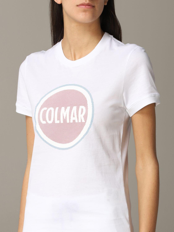 T-Shirt Colmar: T-shirt women Colmar white 5