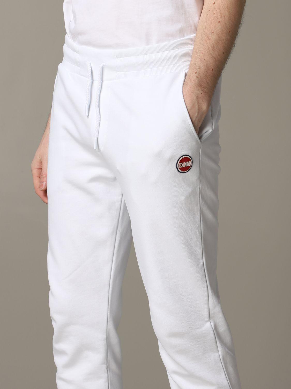 Pantalon de jogging Colmar avec logo blanc 4