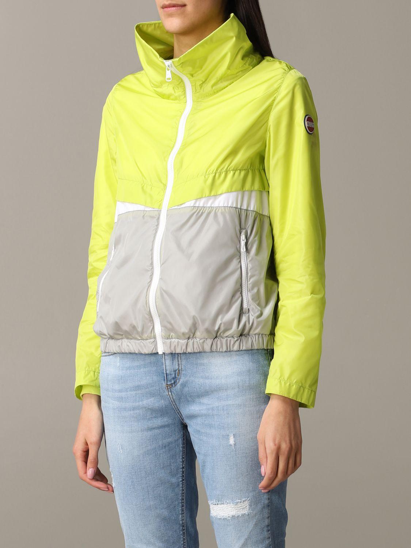 Jacket Colmar: Jacket women Colmar yellow 3
