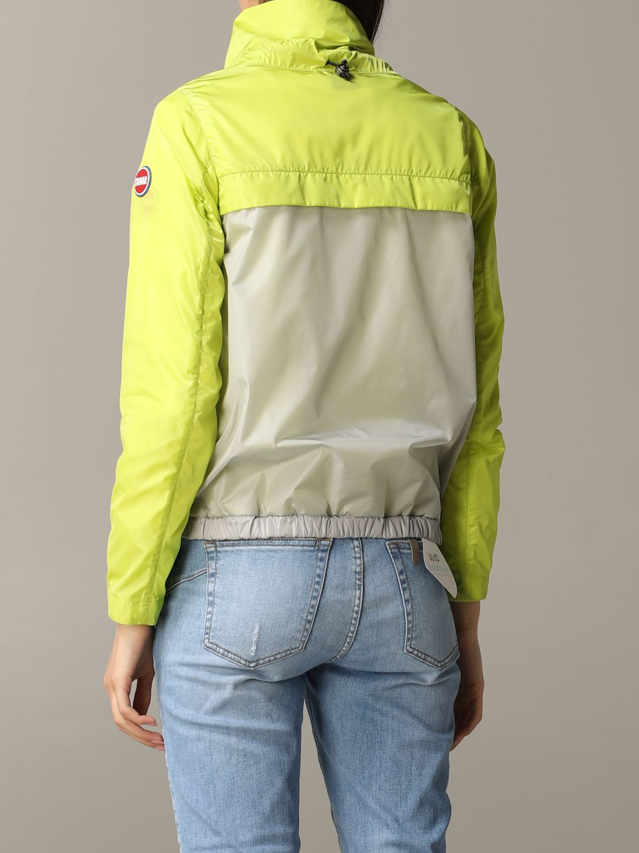 Jacket Colmar: Jacket women Colmar yellow 4