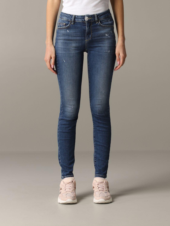 fiabilidad tierra principal Serena  Liu Jo high-waisted slim fit jeans | Jeans Liu Jo Women Denim | Jeans Liu Jo  UA0013D4448 Giglio EN