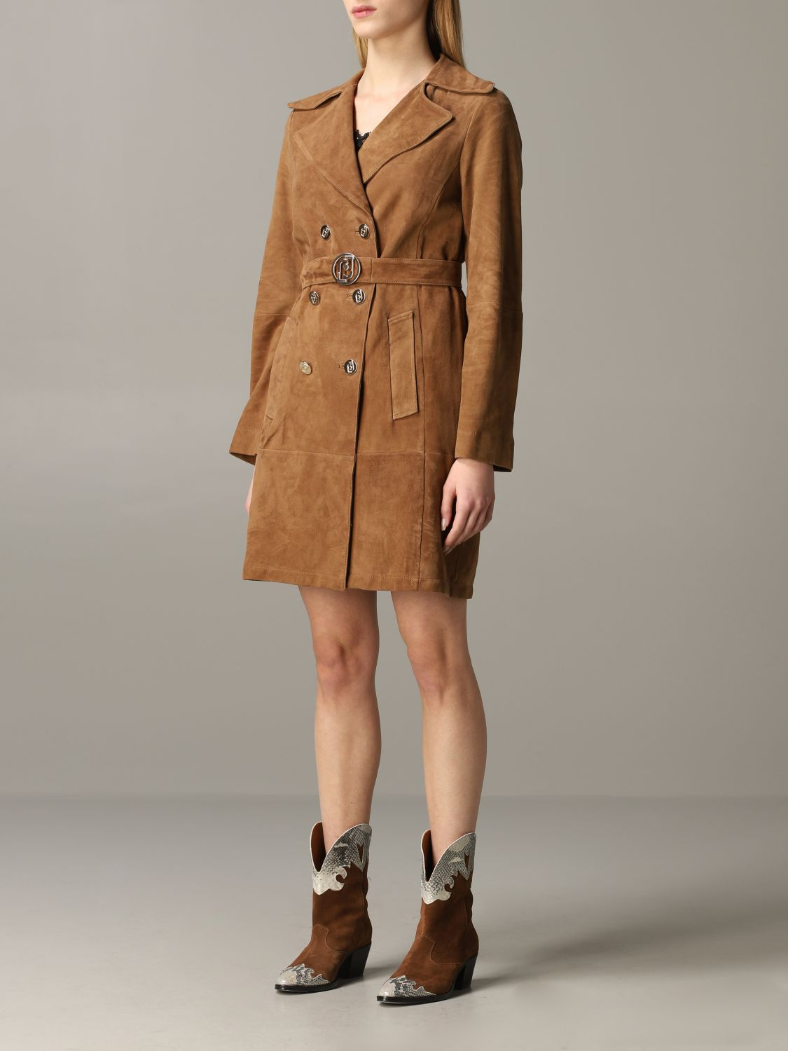 Liu Jo double-breasted coat biscuit 4
