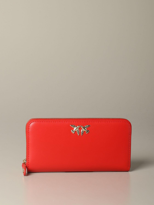 Wallet women Pinko red 1