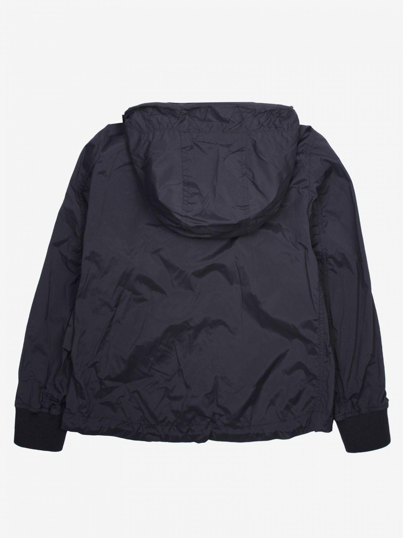 外套 Blauer: Blauer 拉链连帽尼龙外套 黑色 2
