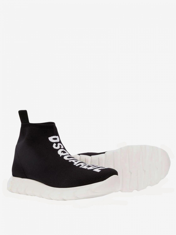 Shoes kids Dsquared2 Junior black 2