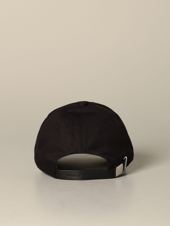 Hat Alexander Mcqueen: Hat men Alexander Mcqueen black 3