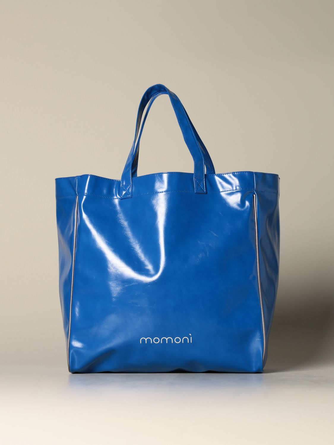 Tote bags women MomonÌ gnawed blue 1