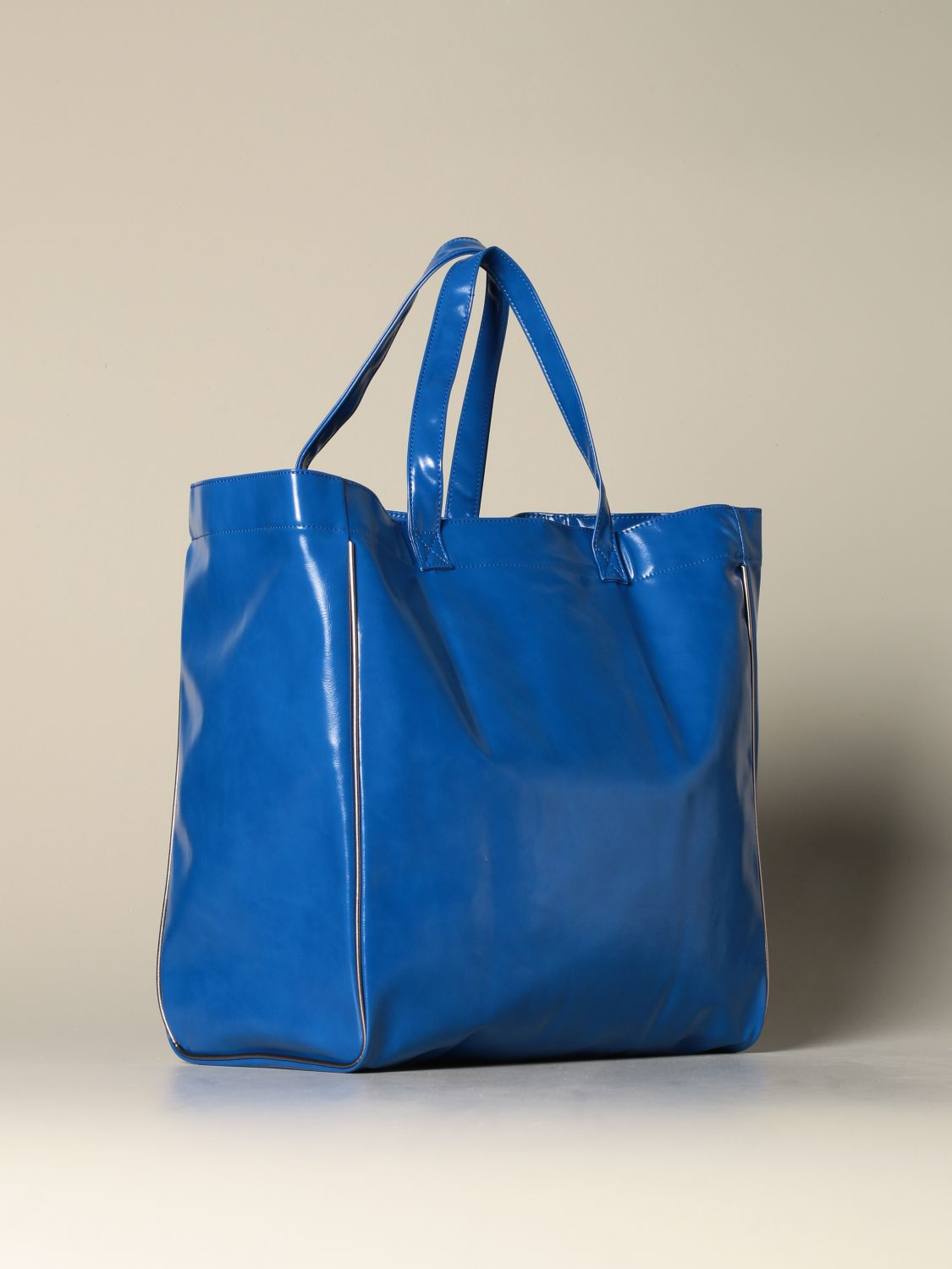 Tote bags women MomonÌ gnawed blue 2