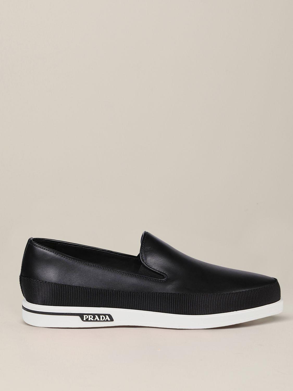 Loafers men Prada black 1