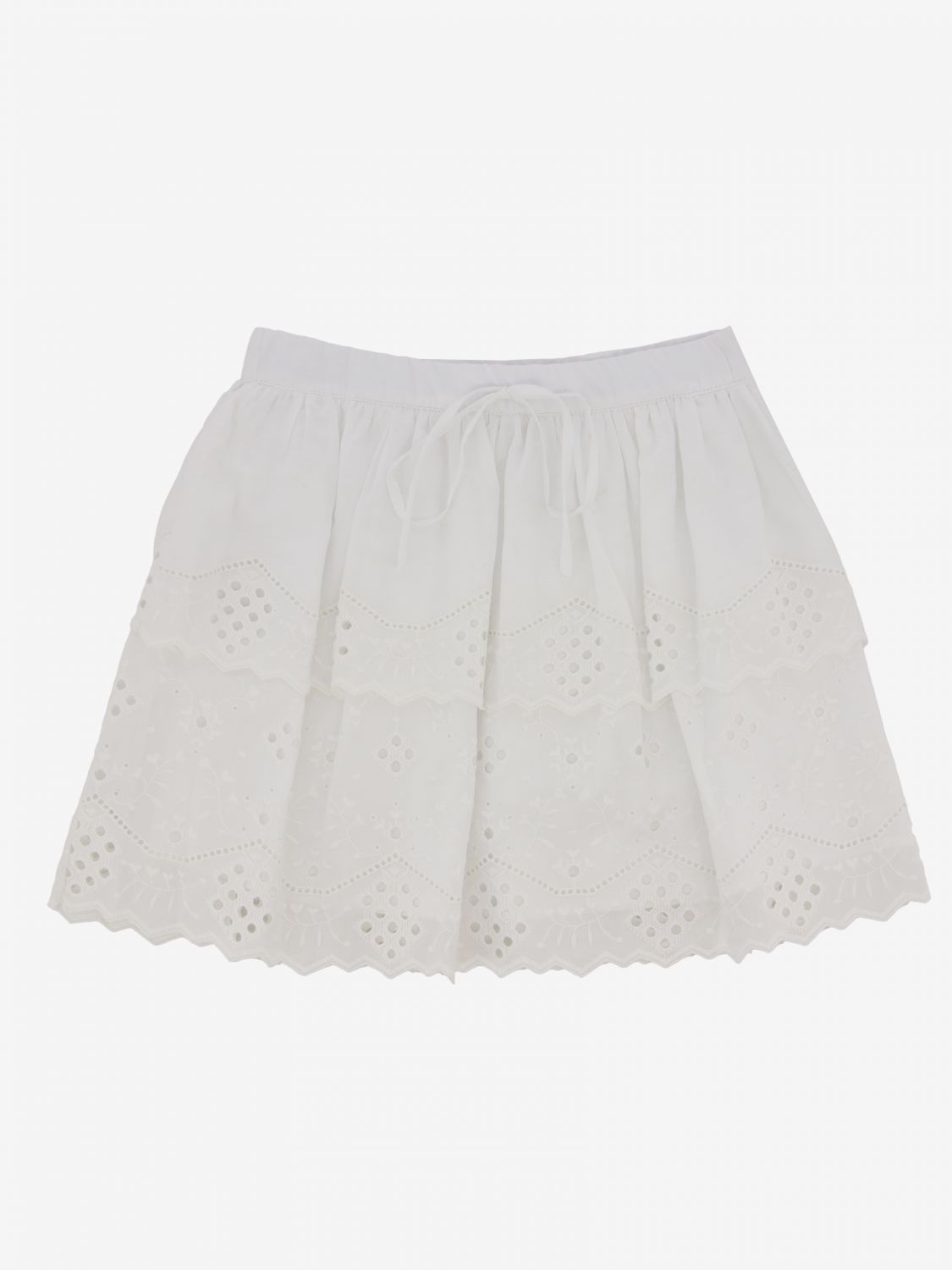 Gonna Alberta Ferretti Junior: Gonna Alberta Ferretti Junior in Sangallo bianco 1