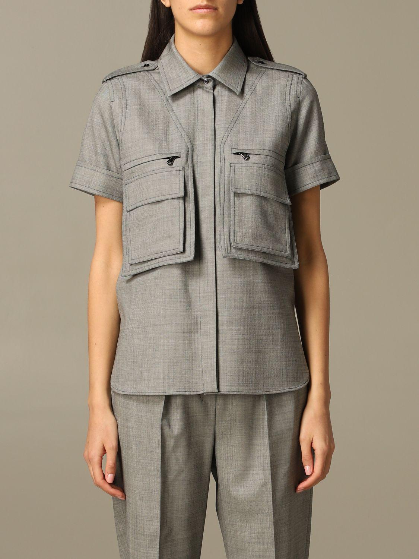 Рубашка Женское Max Mara серый 1