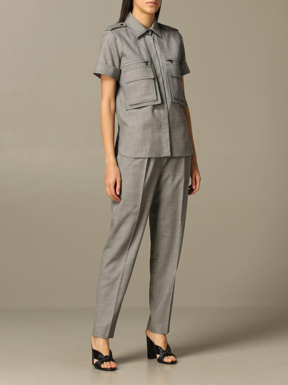 Рубашка Женское Max Mara серый 2