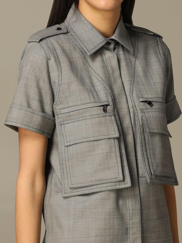 Рубашка Женское Max Mara серый 4