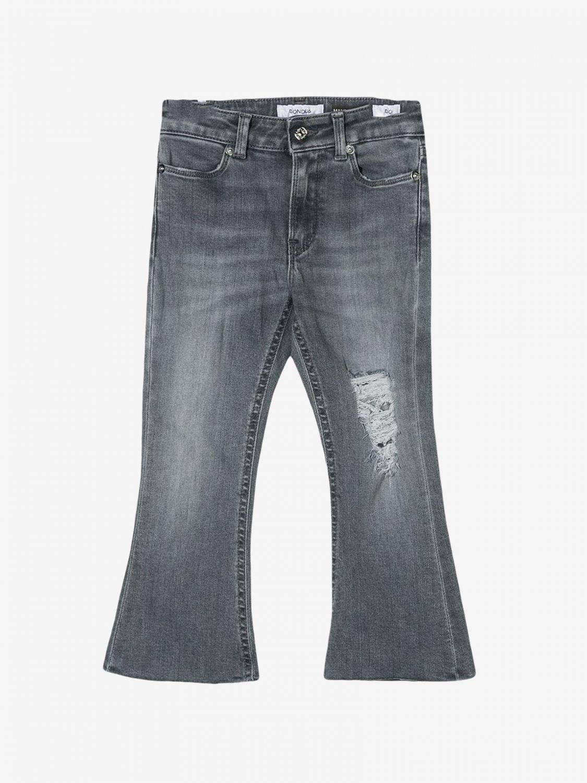 Pantalone Dondup: Jeans Dondup con rotture nero 1