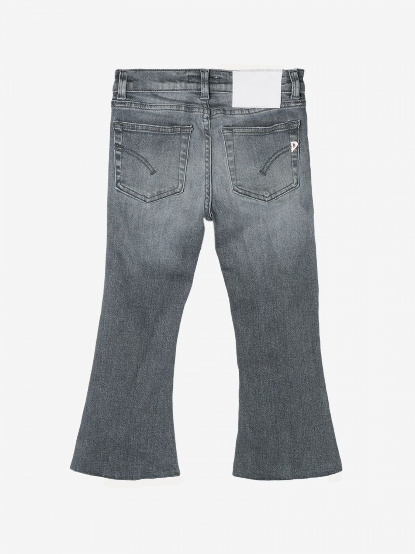 Pantalone Dondup: Jeans Dondup con rotture nero 2