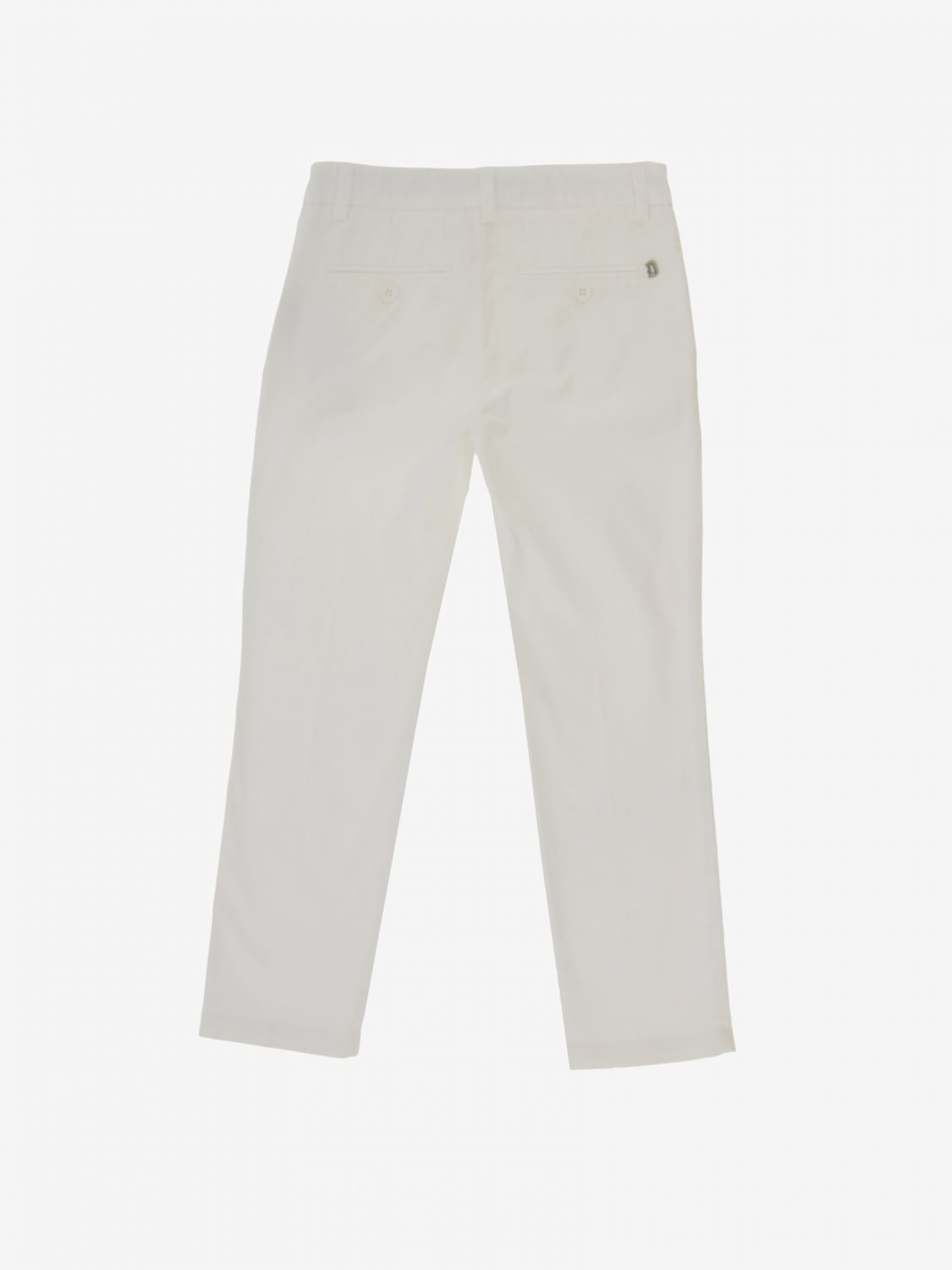 Trousers Dondup: Trousers kids Dondup white 2