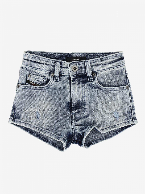 Pantaloncino Diesel: Pantaloncino di jeans Diesel a 5 tasche denim 1