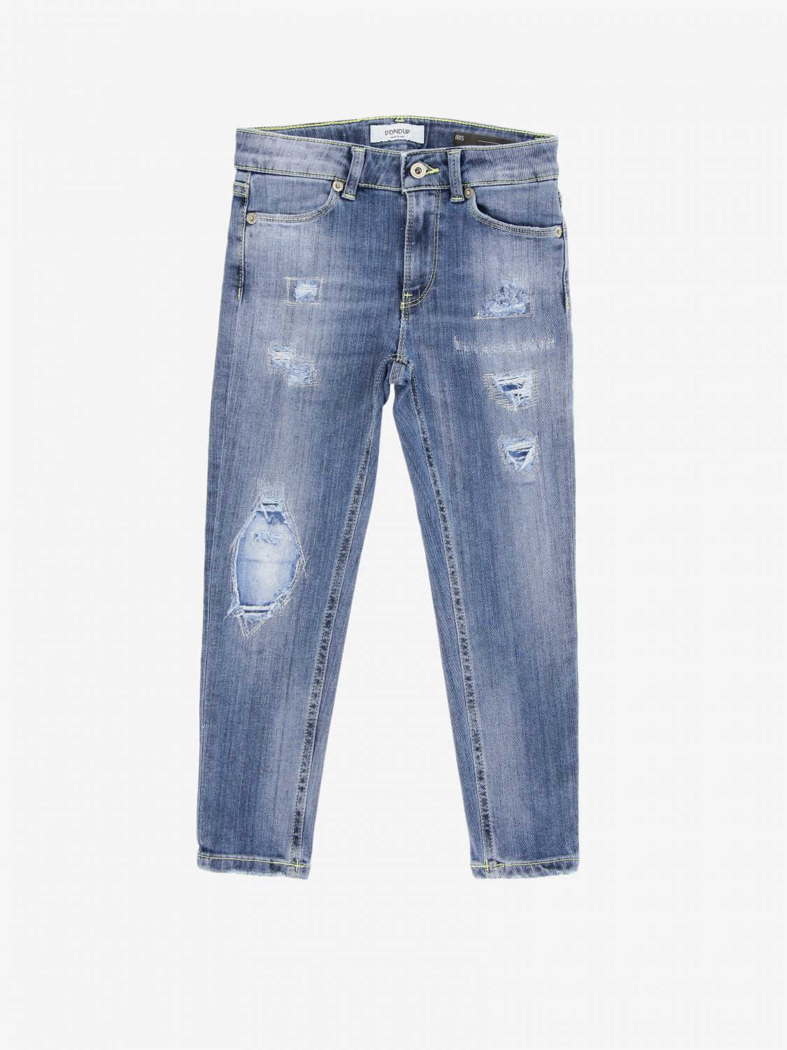 Pantalone Dondup: Jeans Dondup con rotture denim 1