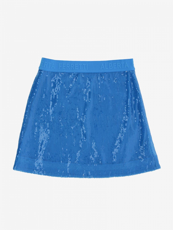 Skirt Alberta Ferretti Junior: Skirt kids Alberta Ferretti Junior turquoise 2