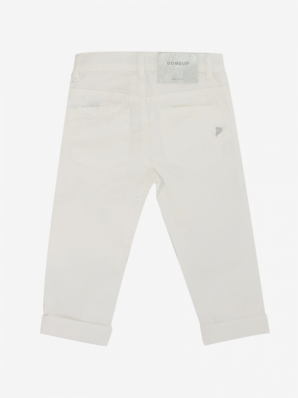 Pantalone Dondup: Pantalone Dondup a 5 tasche bianco 2