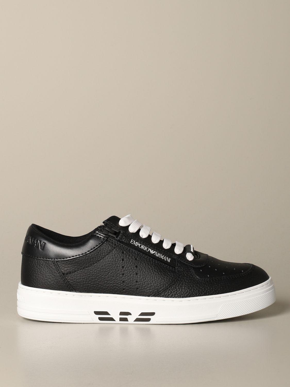 Sneakers Emporio Armani: Sneakers herren Emporio Armani schwarz 1