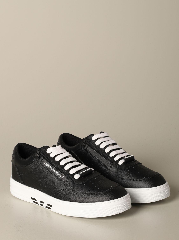 Sneakers Emporio Armani: Sneakers herren Emporio Armani schwarz 2