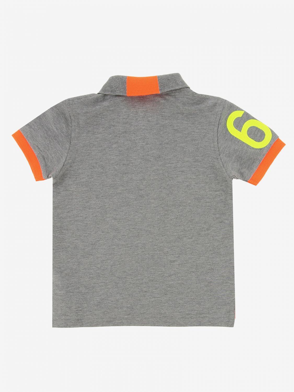 Camiseta niños Sun 68 gris 2