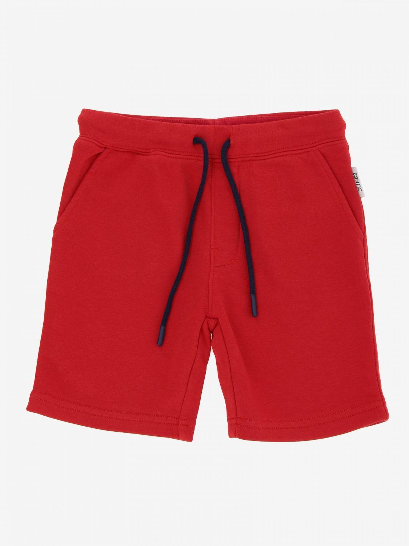 Pantalón corto niños Sun 68 rojo 1