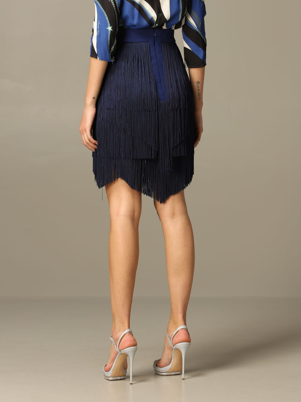 Jupe femme Elisabetta Franchi bleu 3
