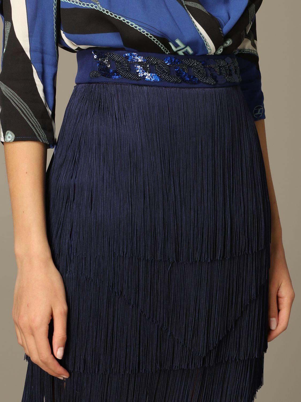 Jupe femme Elisabetta Franchi bleu 4